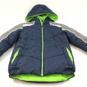 Boys Hooded Puffer Jacket Size 5/6